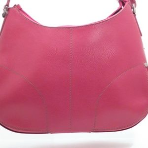 Lamarthe Paris Red Cowhide Leather Handbag